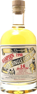 Alambic classique collection hampden 1998 16 year rum 400