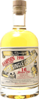 Small alambic classique collection hampden 1998 16 year rum 400
