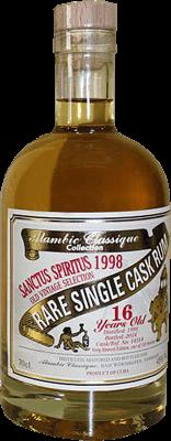 Alambic classique collection sanctus spiritus 1998 16 year rum 400