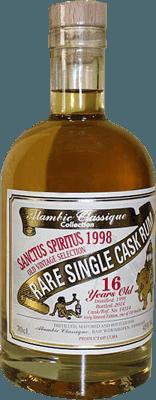 Medium alambic classique collection sanctus spiritus 1998 16 year rum 400