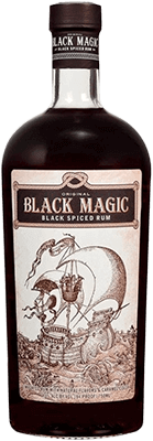 Black magic black spiced rum 400px
