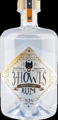 3 howls white label rum 400