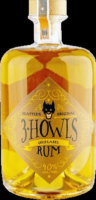 3 howls gold label rum 400
