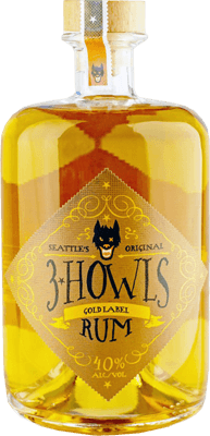 Medium 3 howls gold label rum 400