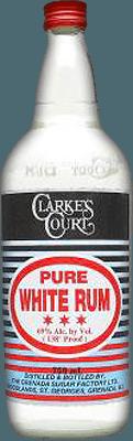 Medium clarkes court pure white rum