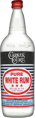 Medium clarkes court pure white rum