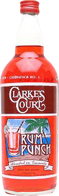 Medium clarkes court rum punch rum