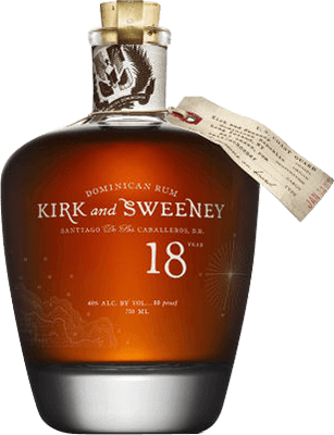Medium kirk and sweeney 18 year rum 400px