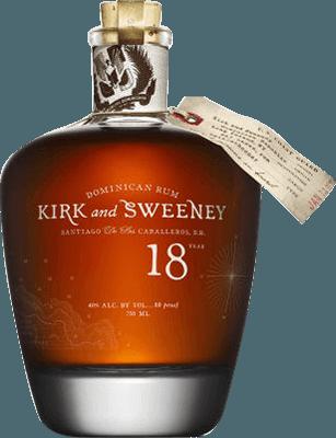 Medium kirk and sweeney 18 year rum 400px