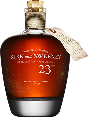 Medium kirk and sweeney 23 year rum 400px