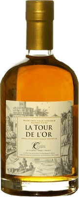 Medium chantal comte la tour de l or bourbon finish rum 400px