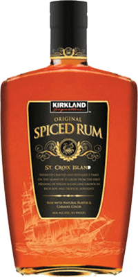 Medium kirkland spiced rum 400px