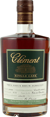 Medium clement single cask green rum 400px