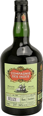 Medium compagnie des indes belize 8 year old cask travellers strength rum 400px
