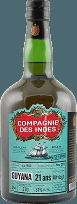 Medium compagnie des indes guyana 1993 21 year rum 400px