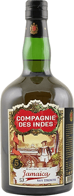Medium compagnie des indes jamaica navy strength 5 year rum 400px