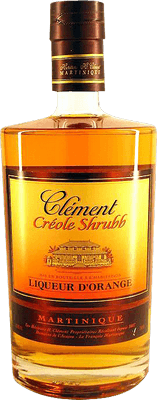 Medium cl ment creole shrubb rum