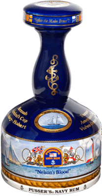 Medium pusser s nelson s blood yachting decanter rum 400px
