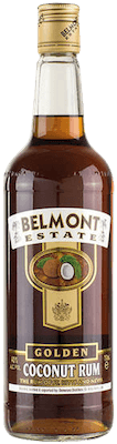 Medium belmont estate golden coconut rum 400px