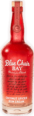 Medium blue chair bay coconut spiced cream rum 400px