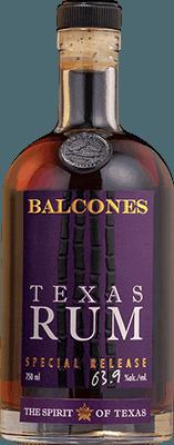 Medium balcones texas special release rum 400px
