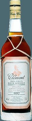 Medium clement rhum vieux millesime 1952  rum