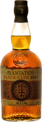 Medium plantation black cask 1651 rum 400px