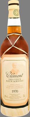 Clement rhum vieux millesime 1970 rum