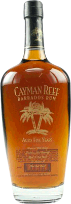 Medium cayman reef 5 year rum 400px