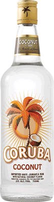 Medium coruba coconut rum 400px