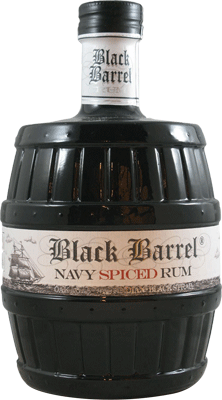 Medium a.h. riise black barrel navy spiced rum 400px