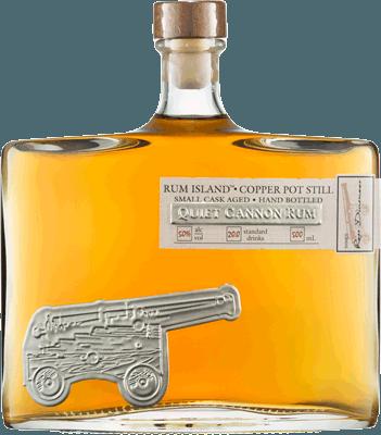 Medium quiet cannon small cask rum 400px