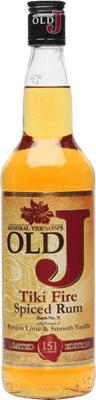 Medium old j tiki fire spiced rum 400px