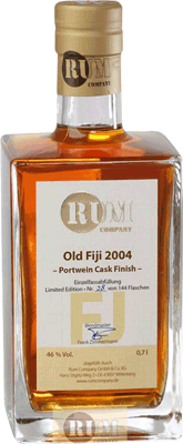 Medium rum company old fidji 2004 port wine cask rum 400px
