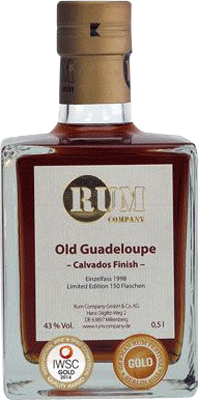 Medium rum company old guadeloupe calvados finish rum 400px