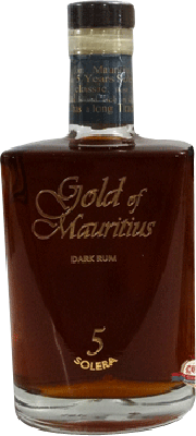 Medium gold of mauritius solera 5 year rum 400px