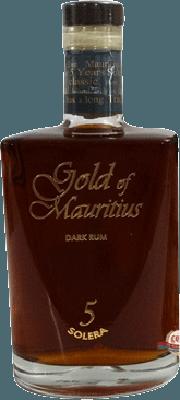 Medium gold of mauritius solera 5 year rum 400px