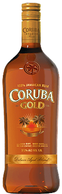 Medium coruba gold rum