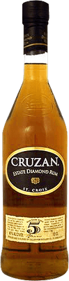 Medium cruzan 5 estate diamond rum