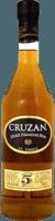 Small cruzan 5 estate diamond rum