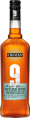 Medium cruzan 9 spiced rum