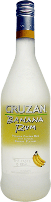 Medium cruzan banana rum