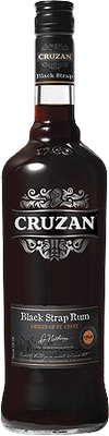 Medium cruzan black strap rum