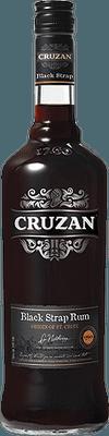 Medium cruzan black strap rum