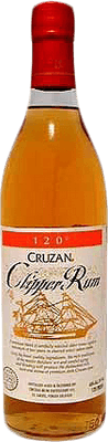 Medium cruzan clippe  120 rum