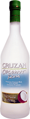 Medium cruzan coconut rum