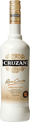 Medium cruzan cream rum