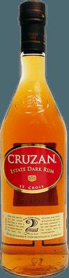 Medium cruzan estate dark rum