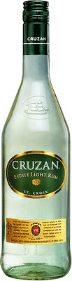 Medium cruzan estate light rum