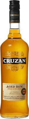 Medium cruzan gold rum
